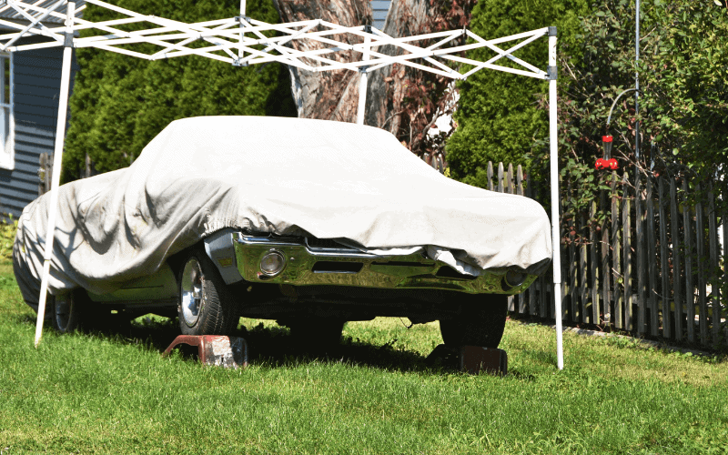 Does a Car Cover Protect From Heat