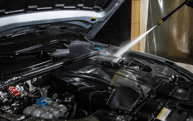 How To Wash A Car Engine