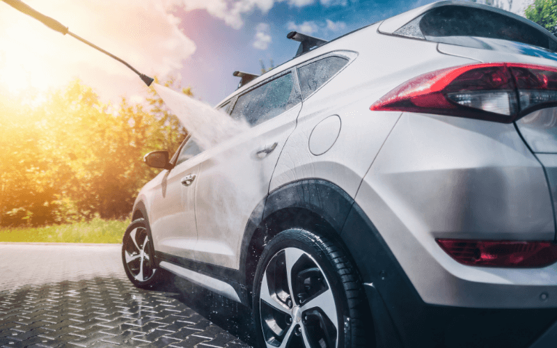 How To Wash A Car To Avoid Water Spots