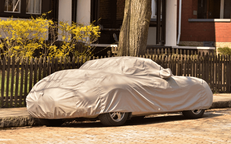 How to Put On A Car Cover In The Rain