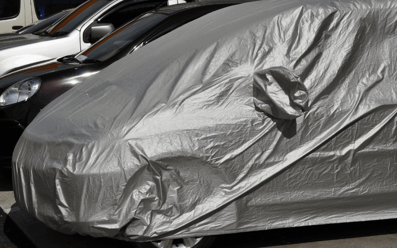 I it safe to Use A Car Cover In The Garage