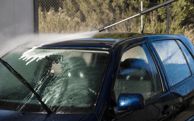 What Pressure Washer Nozzle Is Safe For Car