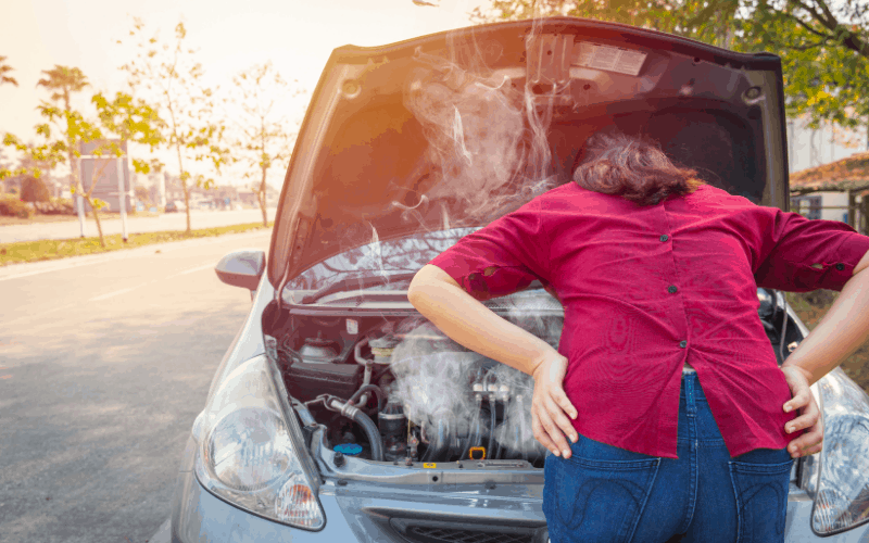 Why Car Overheats in Traffic
