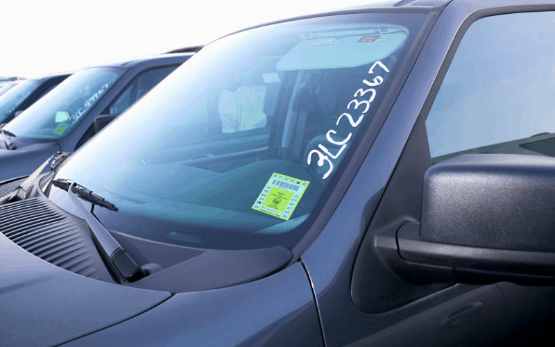 How to Remove Inspection Sticker From Windshield to Reuse