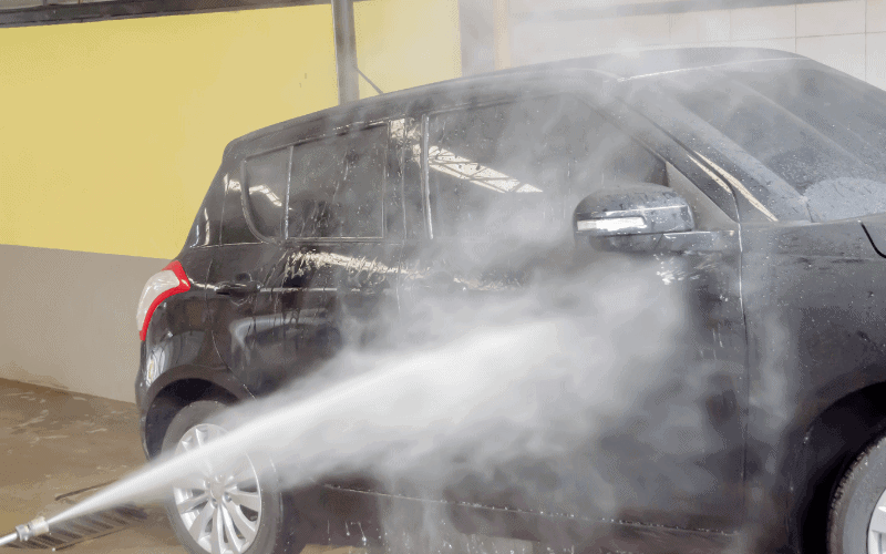 Causes of Scratches On Black Cars After Car Wash