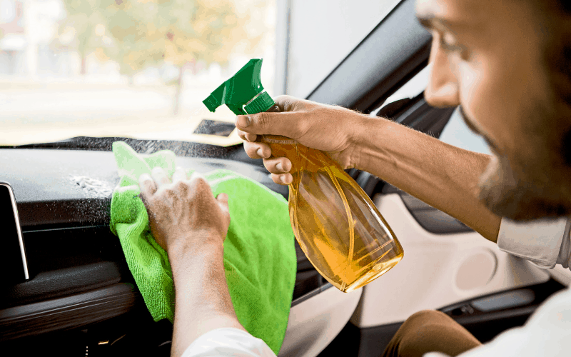 Household Products To Clean Car Dashboard
