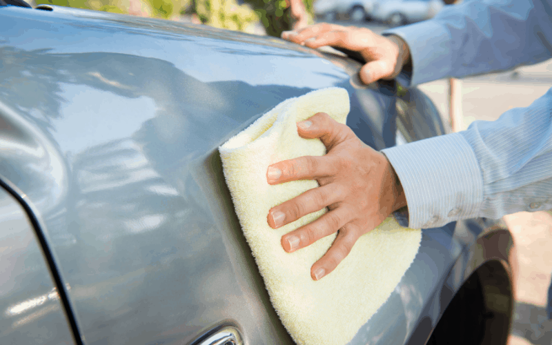 How To Remove Hard Water Spots From Car Paints