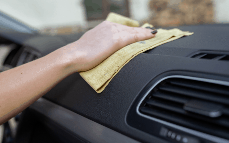 How To Remove Stains From Plastic Dashboard