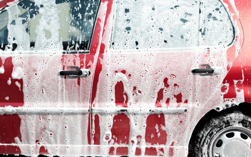 How To Wash A Car Using Shampoos