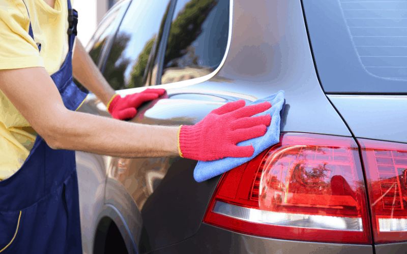 What Causes Hard Water Spots To Appear On Car Paints