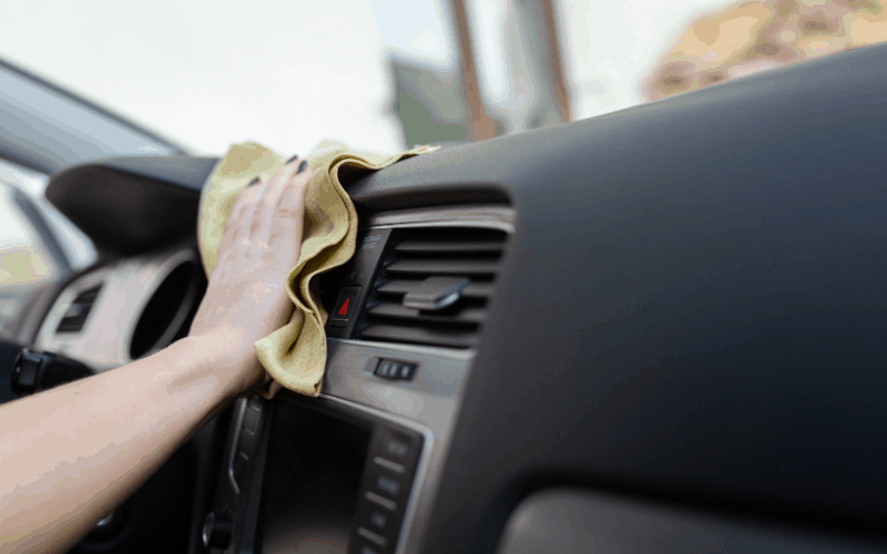 What Causes Stains On a Car's Plastic Dashboard