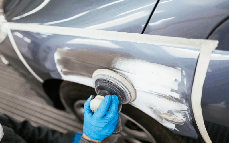 What Causes Wrinkling Of Paint On a Car
