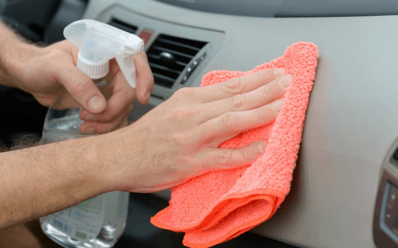 What To Clean Inside Of Car With