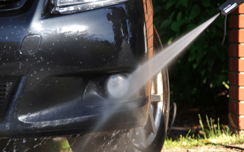 What To Do When Water Spots Appear On Your Black Car