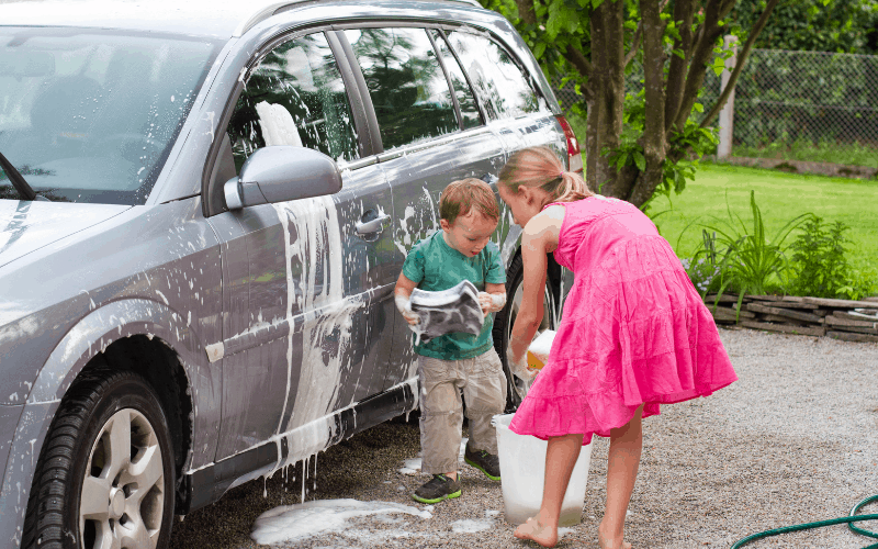 What To Use Instead Of Car Wash Soap