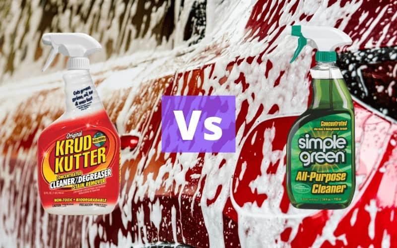 Krud Kutter vs Simple Green